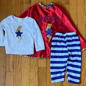 Pottery Barn Kids super hero costume 6-12 months